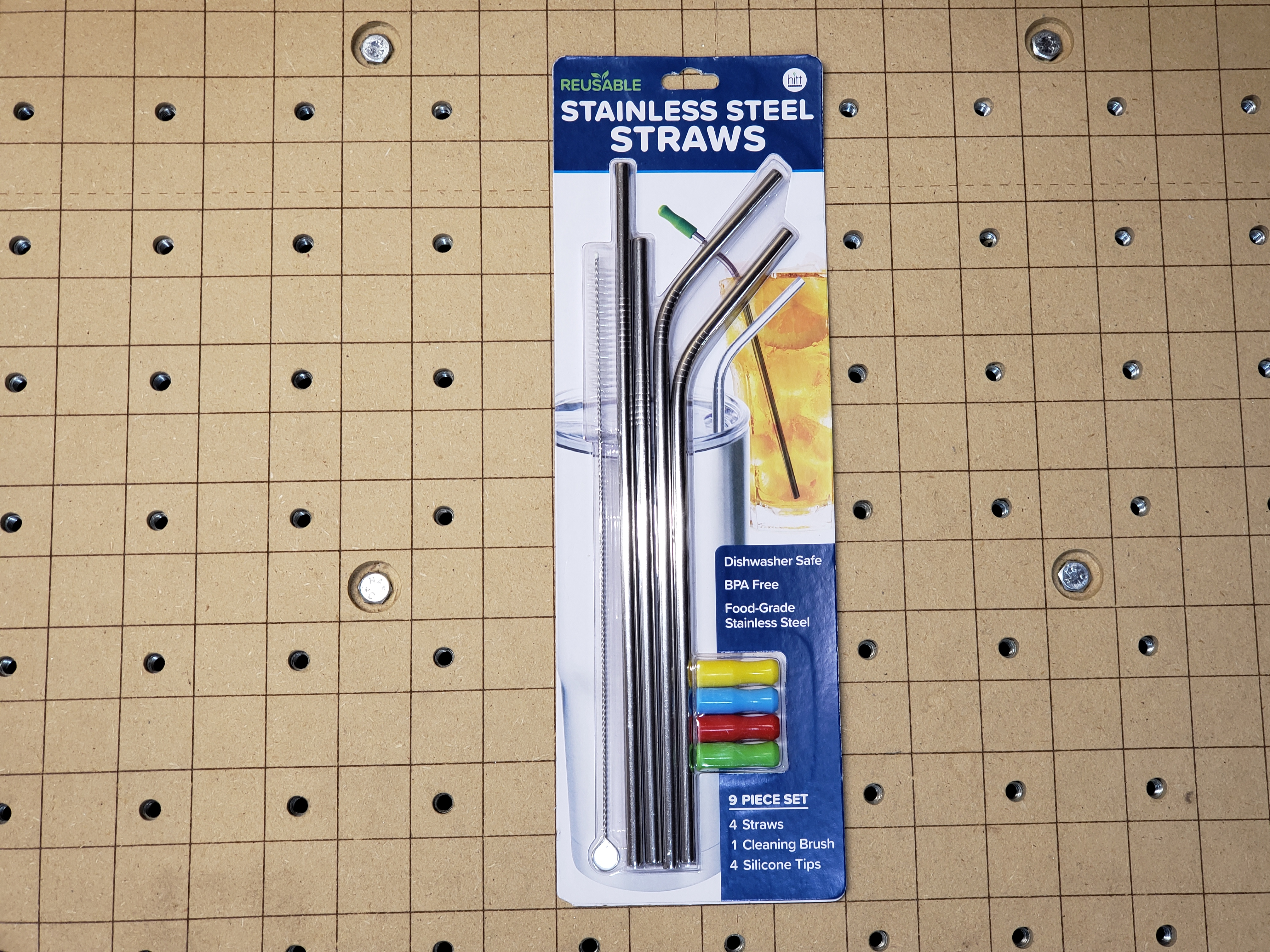 Acclaim Air Assist Nozzle Stainless Steel Drinking Straws